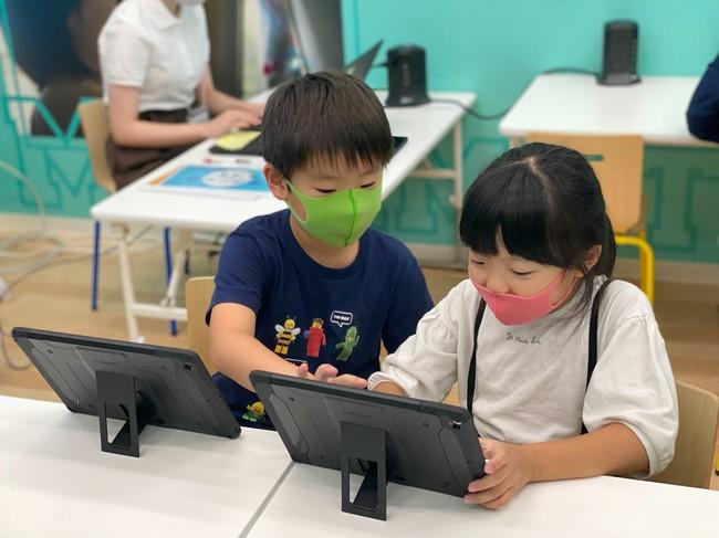 教室でのレッスン風景