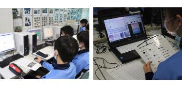 ライフイズテック/浜松市 モデル校で「ライフイズテック レッスン」を使ったプログラミング実証授業が終了