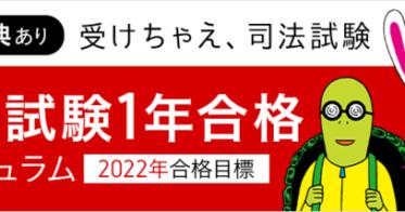 アガルートアガルート/【2022年合格目標】まだ間に合う!予備試験1年合格カリキュラムにライトカリキュラムが新設!