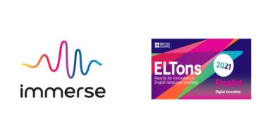Immerse Inc.Immerse Inc./VR英語教育「immerse(イマース)」が「ELTons Innovation Awards 2021」のDigital Innovation部門で、VRサービスとして史上初のファイナリスト選出。